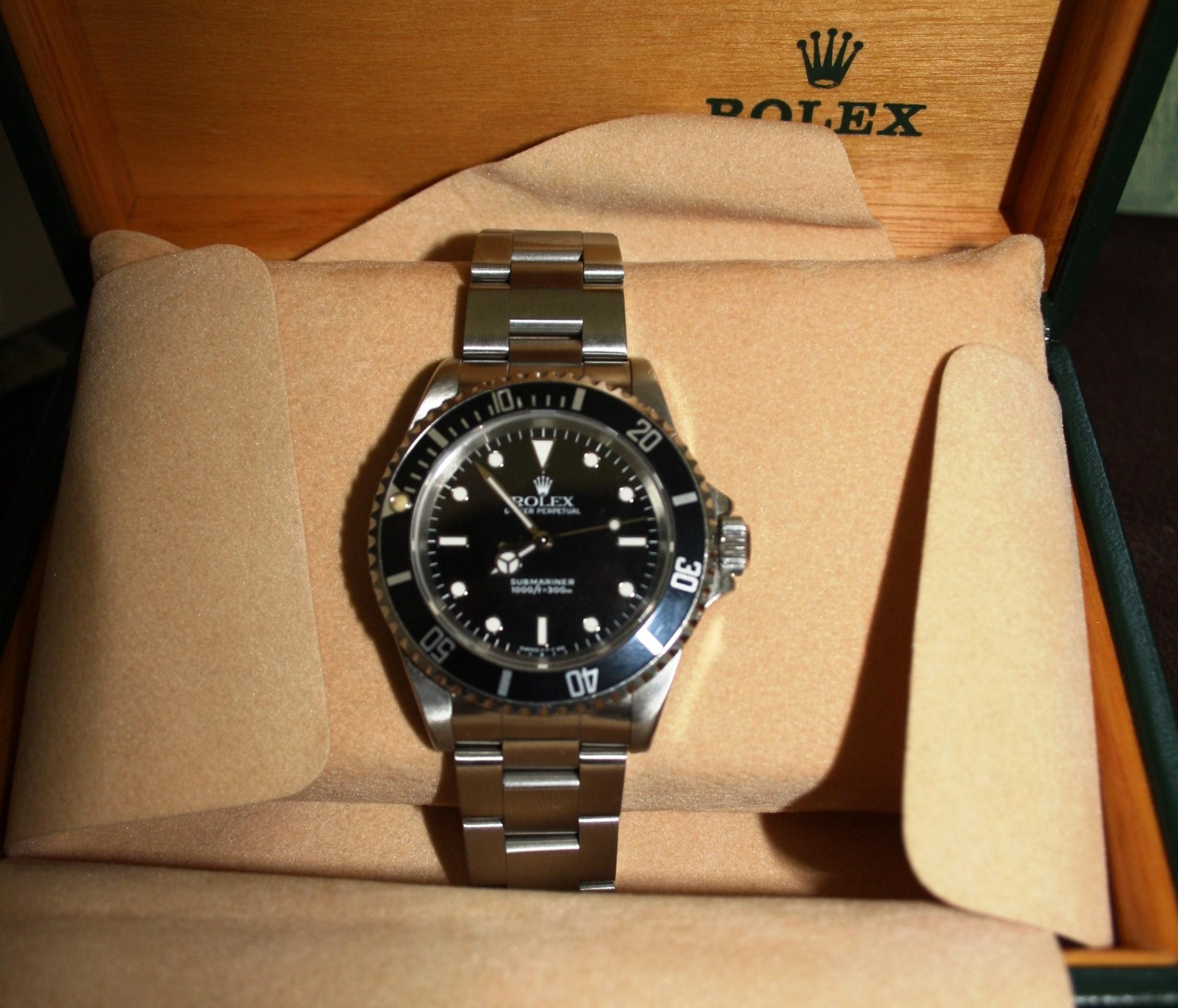 buy popular 113dc 82bea Rolex Submariner Ref.14060 - COMPRO E VENDO OROLOGI