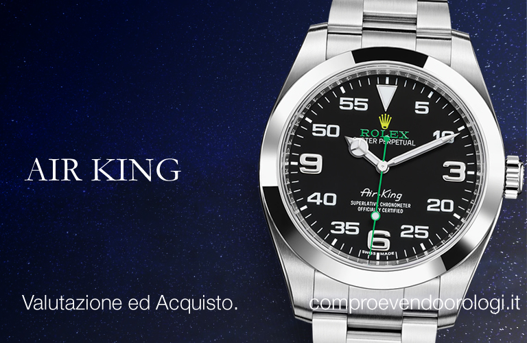 Milano - Rolex AIR KING a Milano