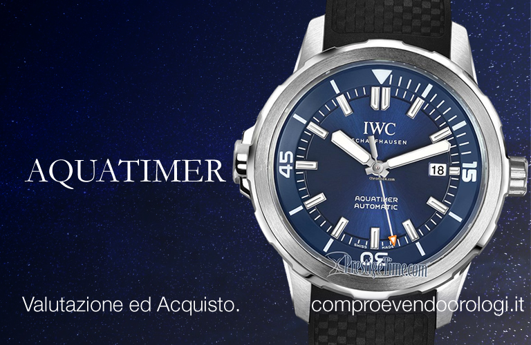 Viale Jenner Milano - Iwc AQUATIMER a Viale Jenner Milano