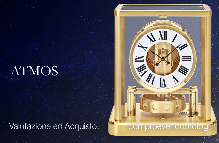 Dateo Milano - Jaeger LeCoultre ATMOS a Dateo Milano